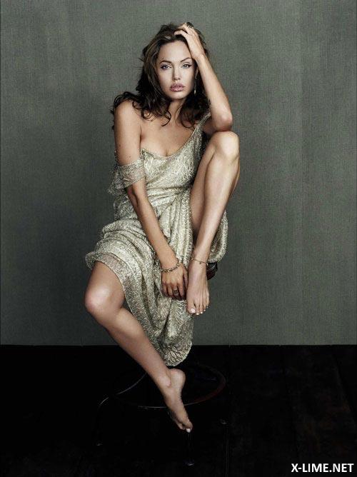 Голая Анджелина Джоли подборка (65 ФОТО)