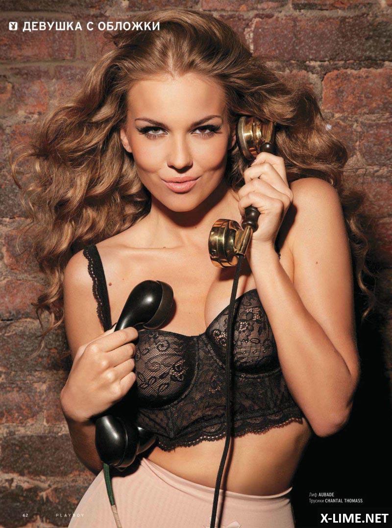 Обнаженная Лена Горностаева в эротической фотосессии PLAYBOY