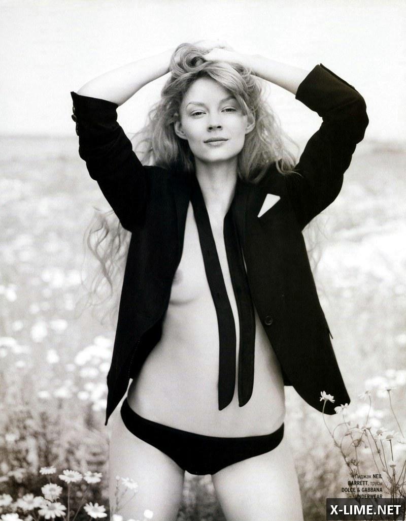 Голая Светлана Ходченкова в откровенной фотосессии PLAYBOY