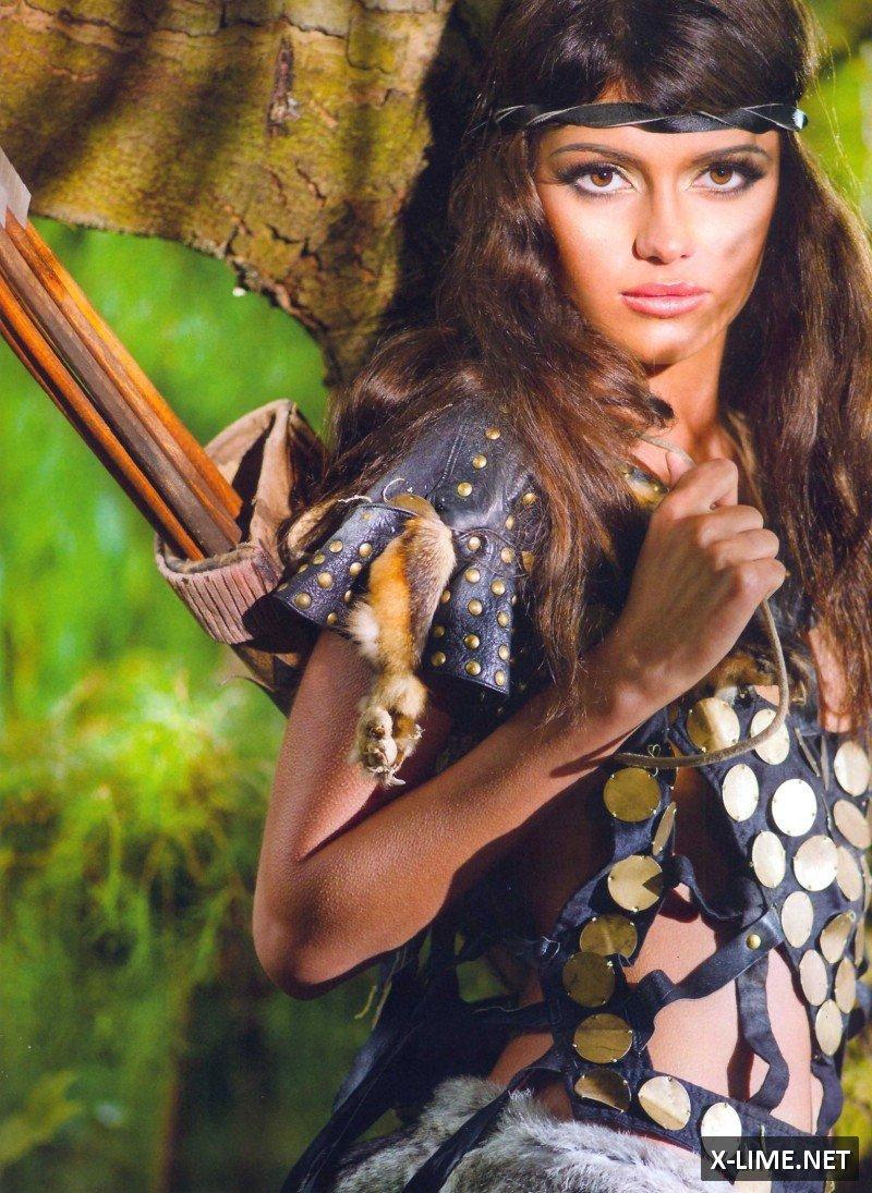 Голая Арина Перчик в эротической фотосессии журнала XXL