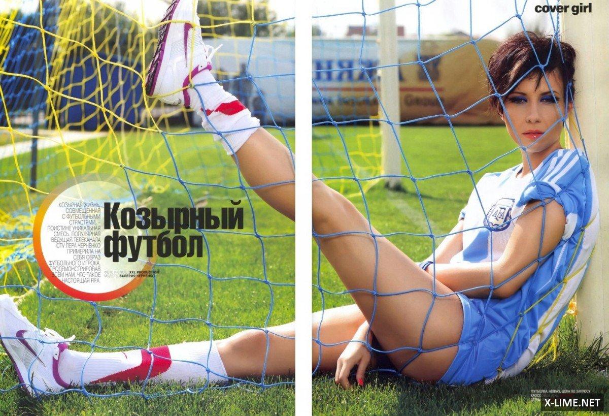 Голая Валерия Черненко в откровенной фотосессии XXL