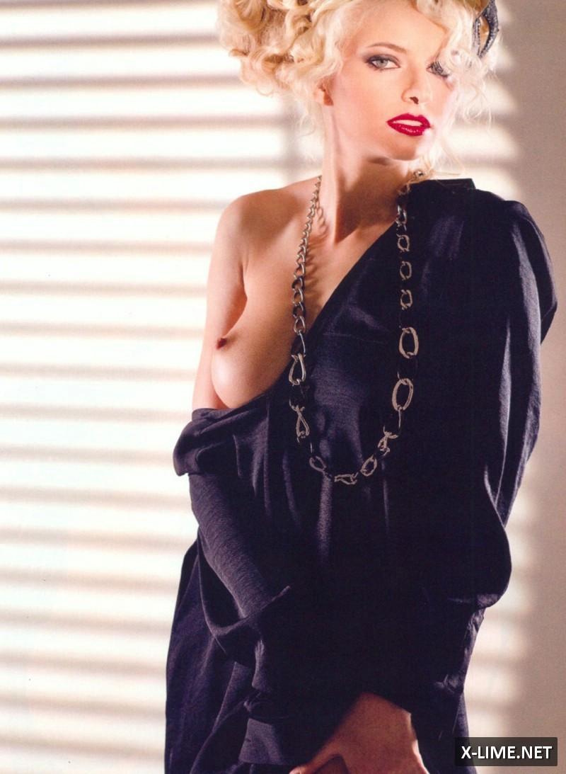 Голая Майя Дмитриева в откровенной фотосессии журнала XXL