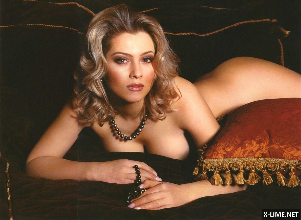 Голая Лена Ленина в эротической фотосессии Penthouse