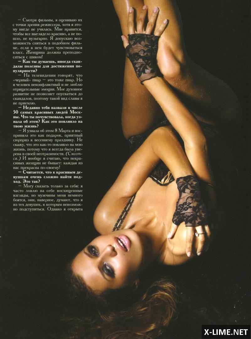 Голая Виктория Боня в откровенной фотосессии Penthouse