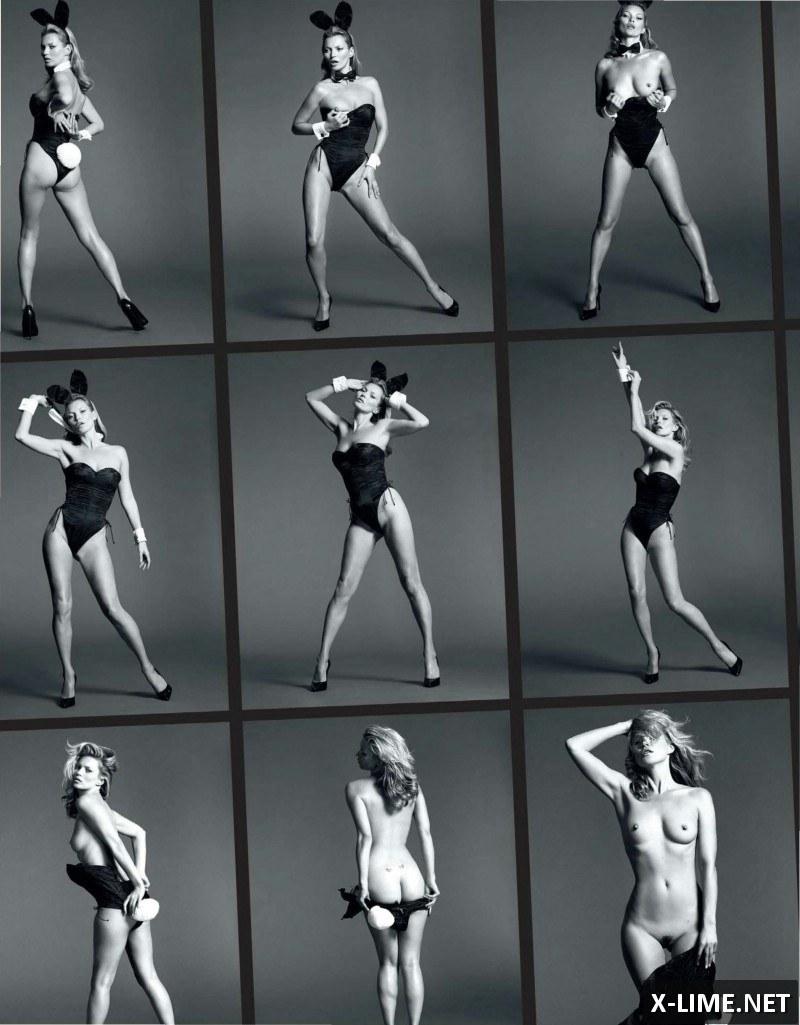 Голая Кейт Мосс, откровенныне фото в PLAYBOY