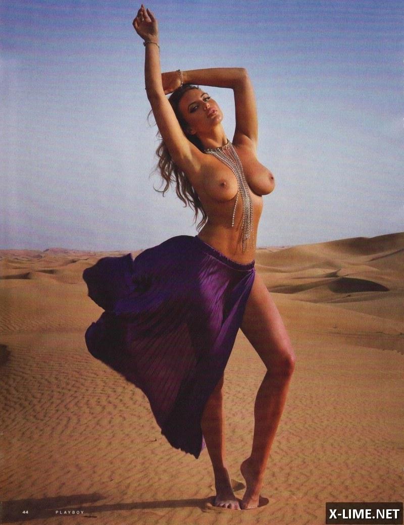 Голая Алина Ильина в откровенной фотосессии PLAYBOY