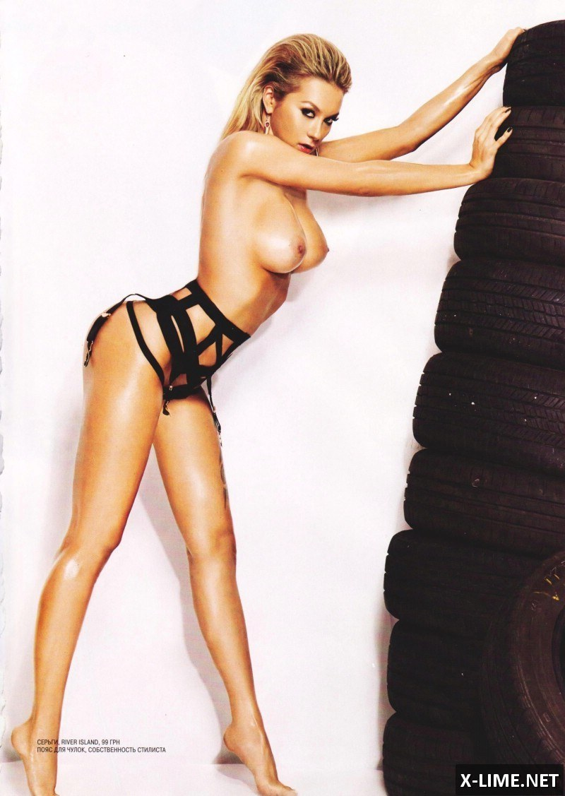 Голая Полина Логунова в эротической фотосессии XXL
