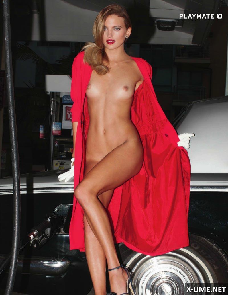 Голая Аманда Бут в эротической фотосессии PLAYBOY