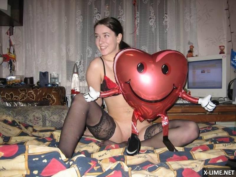 Секс на день святого Валентина (14 ФОТО)