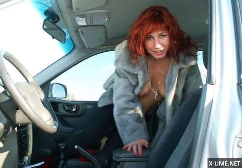 Развратная рыжая женщина (17 ФОТО)