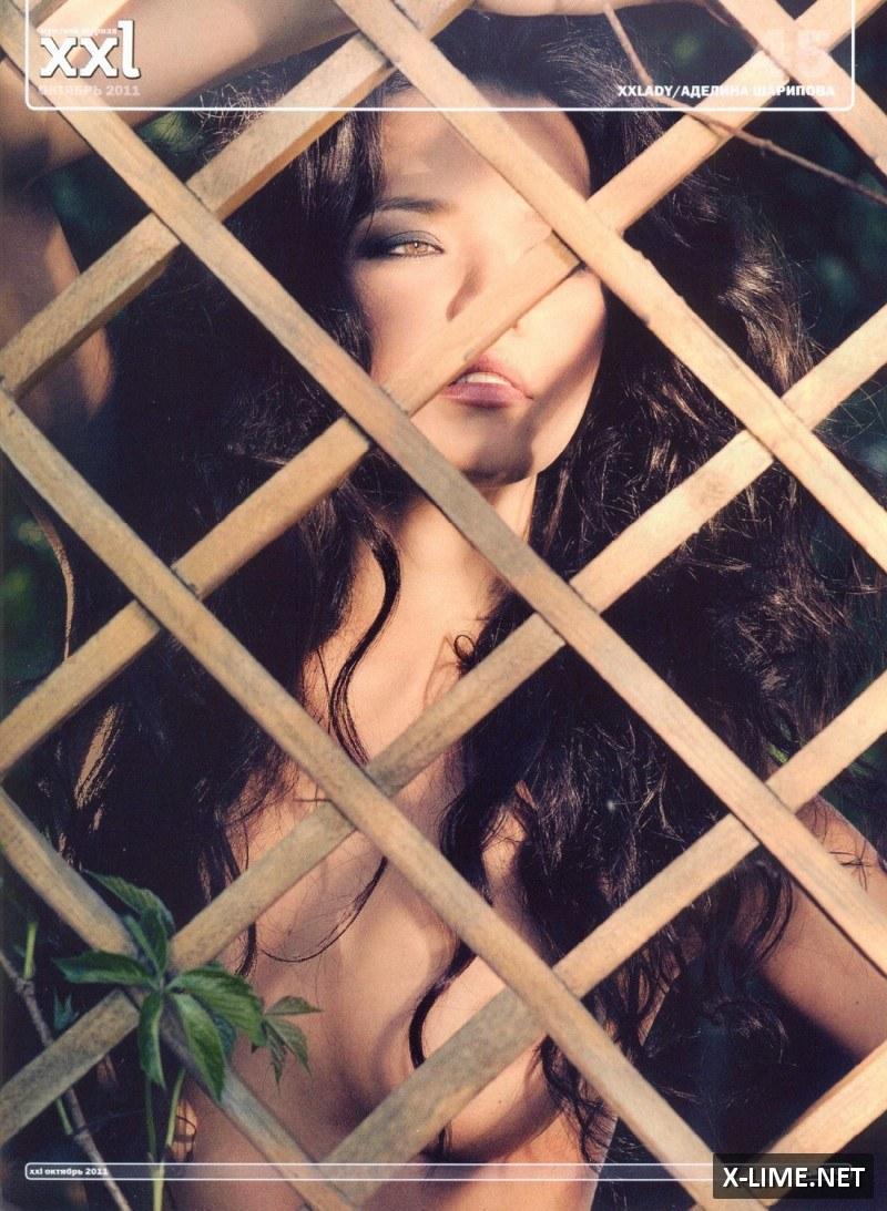 Голая Аделина Шарипова в эротической фотосессии журнала XXL